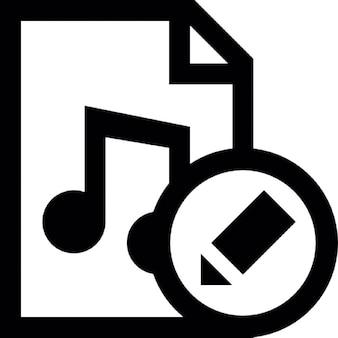 Bewerk muziek document