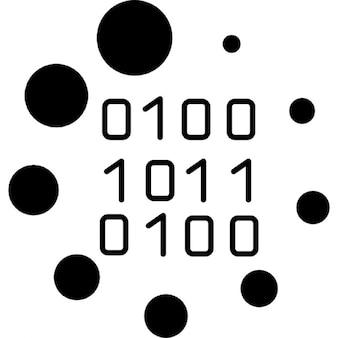 Binaire code laden symbool
