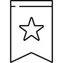 Bookmark met Star