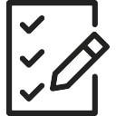 Checklist en Potlood