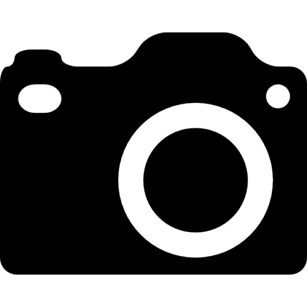 Dslr camera silhouet