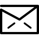 E-mail Gesloten envelop