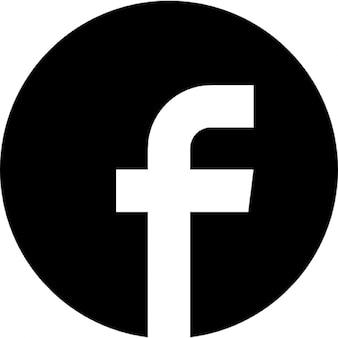 Facebok cirkelvormige logo