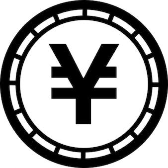 Geld yen munt