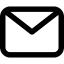 Gesloten Mail Envelop
