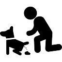 Hond schijten