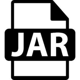 Jar-bestand formaat symbool