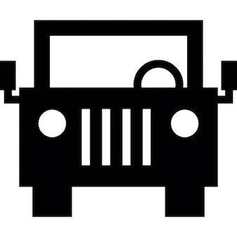 Jeep vooraan
