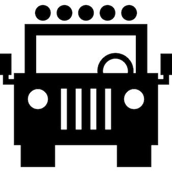 Jeep vooraanzicht