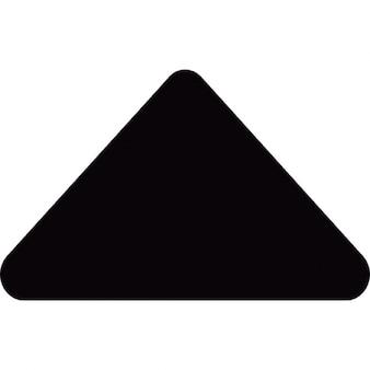 Kleine pijl omhoog driehoek