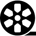 Movie reel cinema hulpmiddel