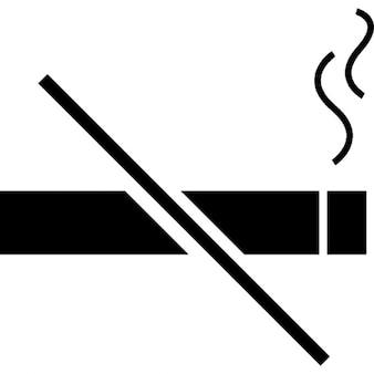 Niet roken, ios 7-interface symbool