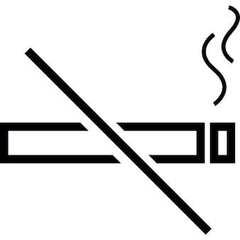 Niet roken, ios 7 interface-symbool