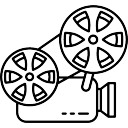 Oude Projector