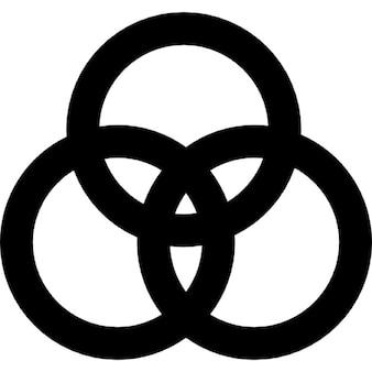 Overlappende cirkels