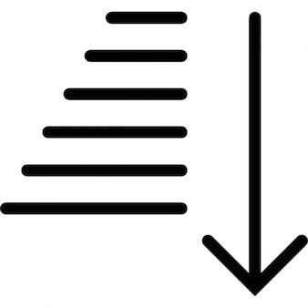 Trap met pijl omhoog iconen gratis download - Beneden trap ...