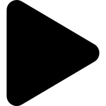Rechts driehoekige pijlpunt