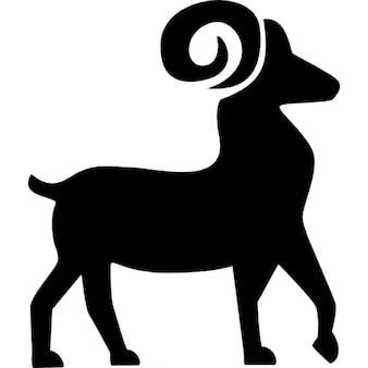 Symbool van de Ram