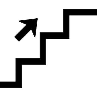 Pijl naar beneden iconen gratis download - Beneden trap ...