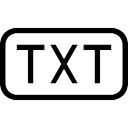 Txt-bestand Iconen | Gratis Download