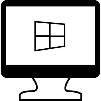Venster in een pc beeldscherm iconen gratis download - Download er finestra ...
