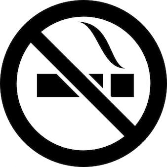 Verboden roken signaal