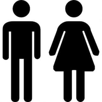 Wc man vrouw