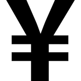 Yen symbool