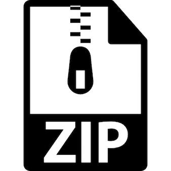 Zip gecomprimeerde bestanden extensie