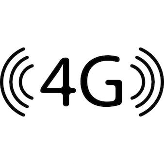 4g símbolo tecnologia