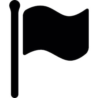 Bandeira silhueta