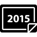 Calendário 2015 Chinese