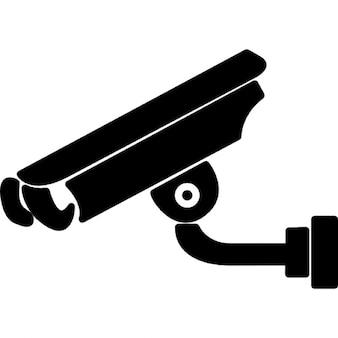 Câmera de vídeo vigilância