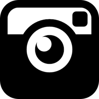 Câmera do vintage quadrado