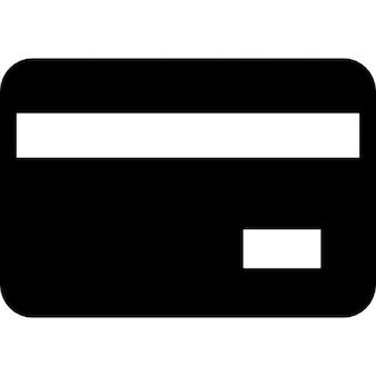 Cartão de crédito de volta