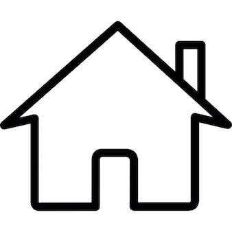 Casa, símbolo ios interface de 7