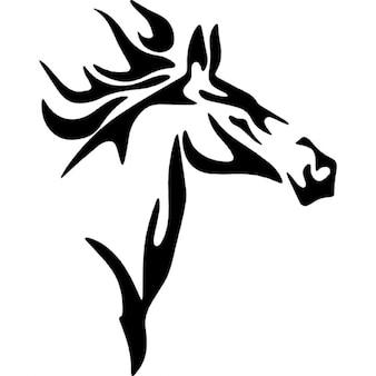 Cavalo variante esboço principal