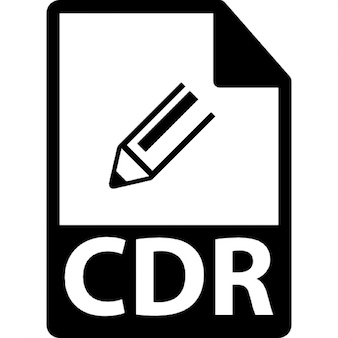 Cdr formato de arquivo símbolo