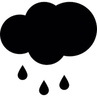 Chuva símbolo pronostic