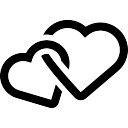 Intertwined Hearts Entrelacados | Vetores...