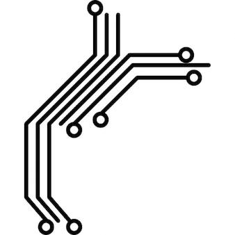 De circuitos impressos para os produtos electrónicos