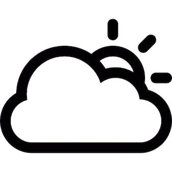 Dia nublado, pronostic tempo