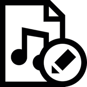 Documento de edição de música