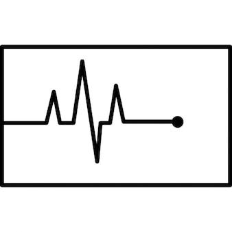Ecg, símbolo ios interface de 7