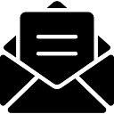 Email envelope aberto