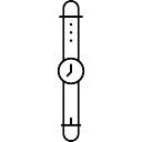 Esboço relógio de pulso