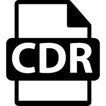 Extensão do formato de arquivo cdr