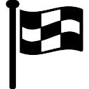 Ferramenta esportiva checkered Bandeira