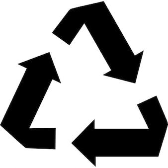 Flechas de reciclagem