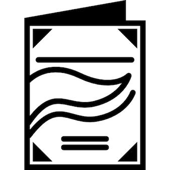 Folheto do negócio de impressão